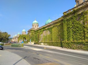 Mirogoj Cemetery wall
